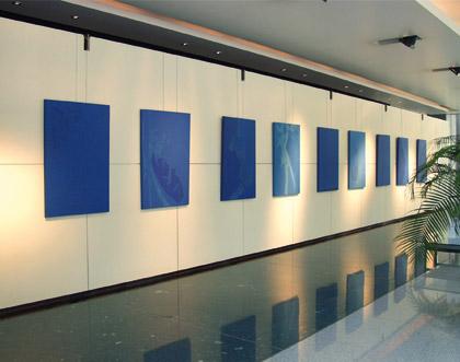 Un exemple de notre concept d'exposition en entreprise.